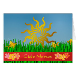 Eid e Noruz Persian New Year Greeting Card