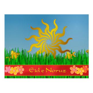 Eid-eh flores de la primavera de Norooz Tarjetas Postales