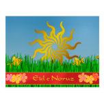 Eid-eh Norooz spring flowers Postcard