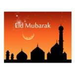 Eid Evening Sky - Postcard