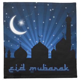 Eid Mosque Blue Night - Napkin