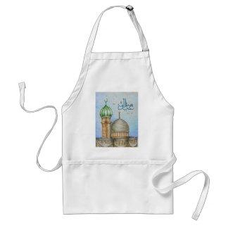 eid mubarak adult apron