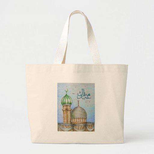 eid Mubarak Bolsa Lienzo