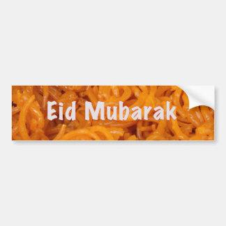 Eid Mubarak Bumper Sticker