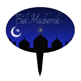 Eid Mubarak - Cake Topper oval