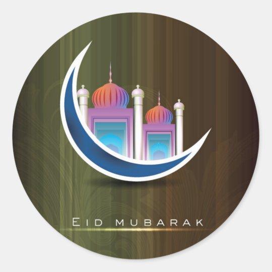 Eid Mubarak Stickers: Halal Stickers
