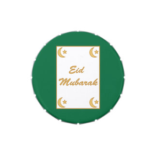 Eid Mubarak Eid al Fitr Jelly Belly Candy Tin
