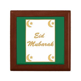 Eid Mubarak Eid al Fitr Keepsake Boxes