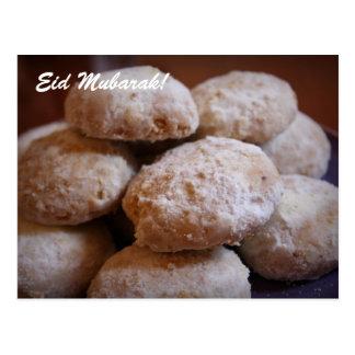 Eid Mubarak! Eid Cookies Postcard