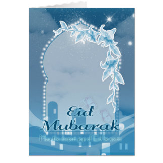 Eid mubarak, Eid Greeting Card, Eid Celebration Card