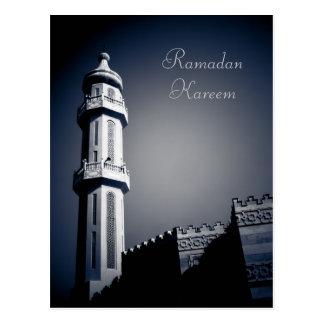 Eid Mubarak - el Ramadán Kareem Tarjeta Postal