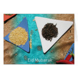 Eid Mubarak greeting Greeting Card
