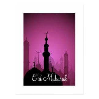 Eid Mubarak Happy Eid Postcard