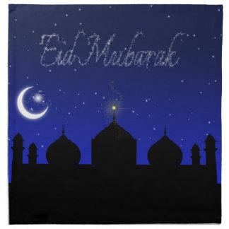 Eid Mubarak - Islamic Greeting Napkin