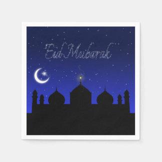 Eid Mubarak - Islamic Greeting Paper Napkin