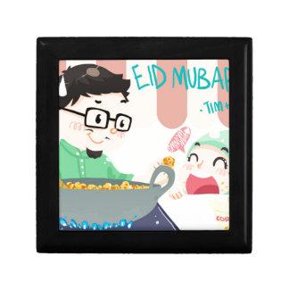 Eid Mubarak Jewelry Box