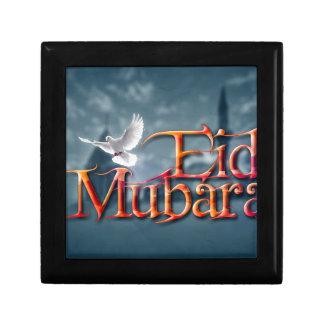 Eid-Mubarak. Jewelry Box