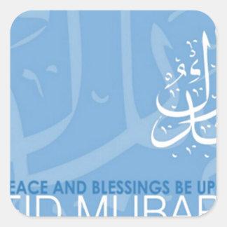 eid mubarak.jpg pegatina cuadrada