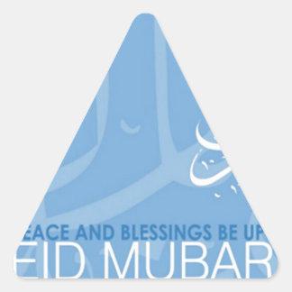 eid mubarak.jpg pegatina triangular