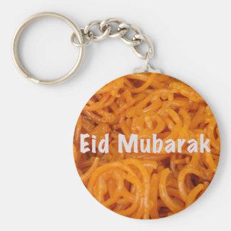 Eid Mubarak Llavero Redondo Tipo Pin