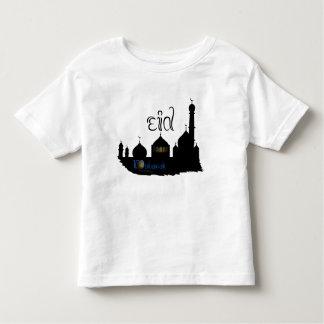Eid Mubarak Mosque Silhouette - Kid's T-Shirt