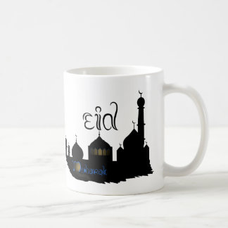 Eid Mubarak Mosque Silhouette - Mug