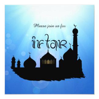 Eid Mubarak Mosque with Sunrays - Iftar Invitation