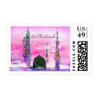 Eid Mubarak postage stamp