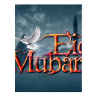 Eid-Mubarak. Postcard