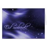 Eid Mubarak - tarjeta de felicitación