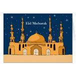 Eid Mubarak Tarjetón