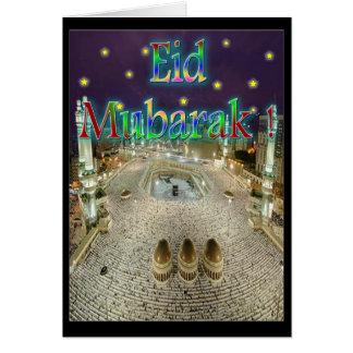 Eid Mubarak Tarjeton