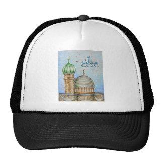 eid mubarak trucker hat