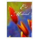 Eid Mubarak- Tulip Buds Cards