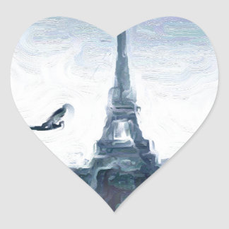 Eifel schemes heart sticker