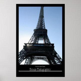Eifel Torre-París, Francia Póster