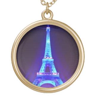 Eifel Tower - Golden Necklace