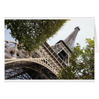 eifel tower, love, paris, france card