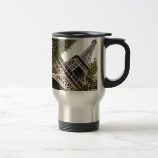 eifel tower, love, paris, france 15 oz stainless steel travel mug