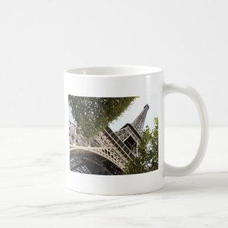 eifel tower, love, paris, france classic white coffee mug