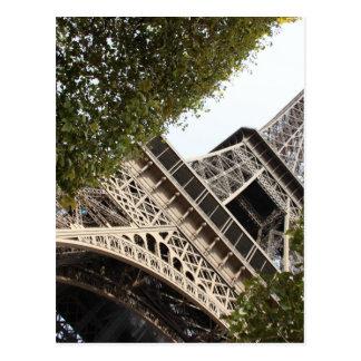 eifel tower, love, paris, france postcard
