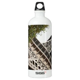 eifel tower, love, paris, france water bottle