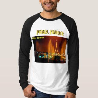 eifel tower, PARIS, FRANCE - Custo... - Customized T-Shirt
