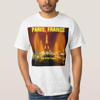 eifel tower, PARIS, FRANCE - MOJISOLA A GBADAMOSI T-Shirt