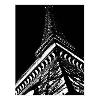 Eiffel at Night Postcard