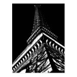 Eiffel en la noche tarjeta postal