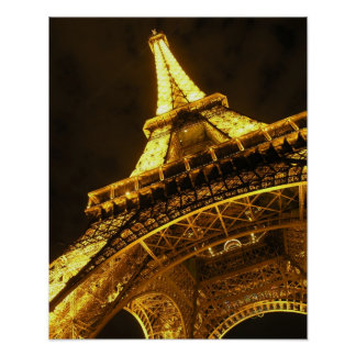 Eiffel iluminó póster
