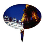 Eiffel Nights Cake Toppers