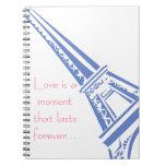 Eiffel Torre-París Libros De Apuntes