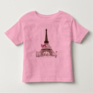 Eiffel Torre-París Playera De Bebé